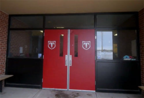 Tanbridge front door entrance
